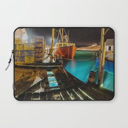 Light in the Wharf Laptop Sleeve