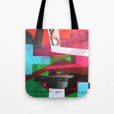 Ceci n´est pas un collage Tote Bag