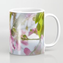 Dreamy Pink Flower Coffee Mug