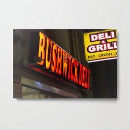 Bushwick Deli Metal Print