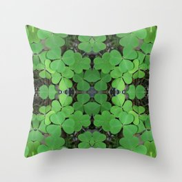 Luck (pattern) Throw Pillow