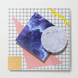 Droplet Haze Metal Print