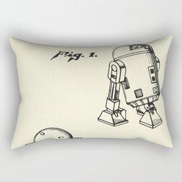 Robot R2D2-1979 Rectangular Pillow