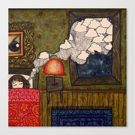 Cloudy Dreams Canvas Print