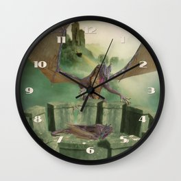 Dragon Land Wall Clock