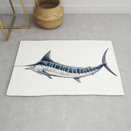 Blue Marlin (Makaira nigricans) Rug