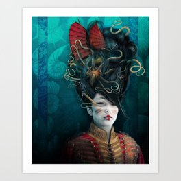 Queen of the Wild Frontier Art Print