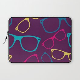 glasses Seamless pattern retro sunglasses Laptop Sleeve