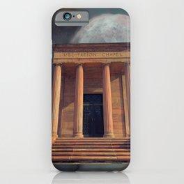 Meditation Chapel  iPhone Case