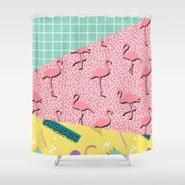 Dreaming 80s Shower Curtain