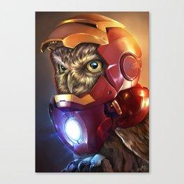Iron Owl Canvas Print