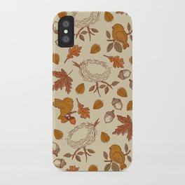 Fly Away Fall iPhone Case