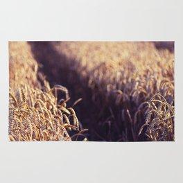 Golden Summer Field Rug