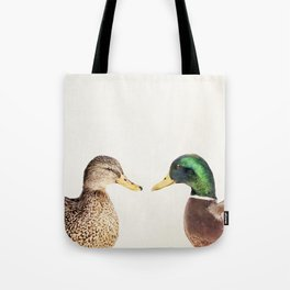 Two Ducks Tote Bag