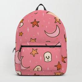 Silly Skeleton Print Backpack