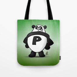 Panda Power Tote Bag