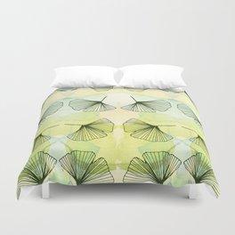 Ginkgo leaf Duvet Cover