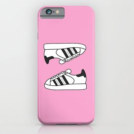 Pink Stars iPhone Case
