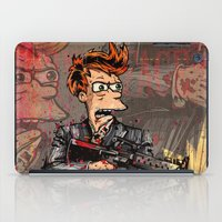 scarface iPad Cases featuring Fryface by Beery Method