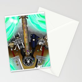 Fusion Keyblade Guitar #177 - Fenrir & Fenrir X Stationery Cards