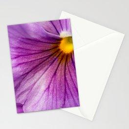 Purple Pansy Flower Close-up #decor #society6 #buyart Stationery Cards