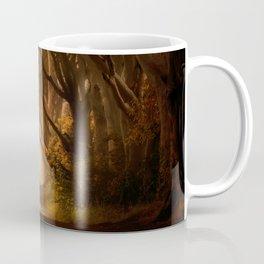 Sunny morning at Dark Hedges Coffee Mug