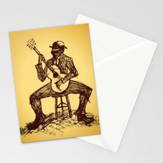 The Blues Man Stationery Cards