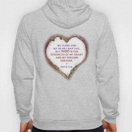 The Strength of My Heart Hoody