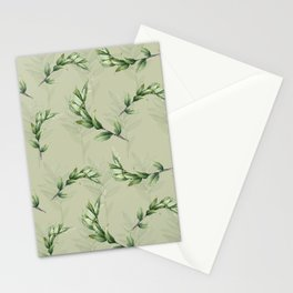 Calming lily of the valley Stationery Cards