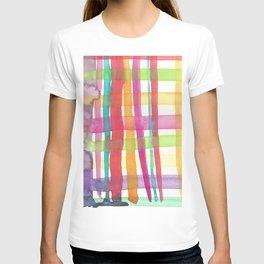 Rainbow Mesh Watercolor T-shirt