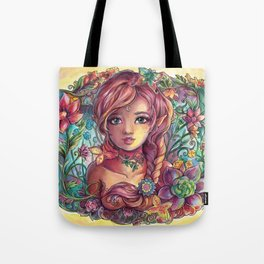Spring Young Fairy Tote Bag
