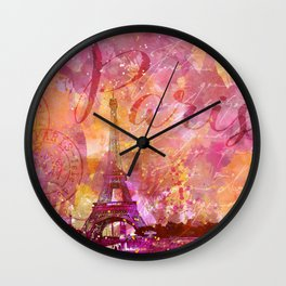 If you love Paris Wall Clock