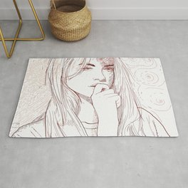 Thoughts Rug