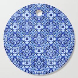 For the Love of Blue - Pattern 372 Cutting Board
