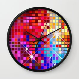 Sparkling Mosaic Wall Clock