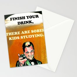 College Motto Stationery Cards