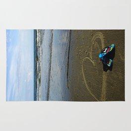 beach love Rug