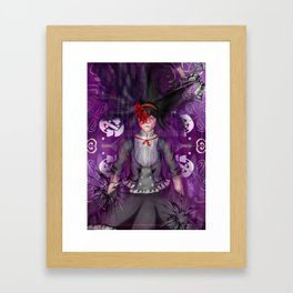 homura fanart Framed Art Print