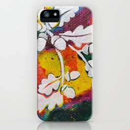 Leaves on the World Tree: Bulgarian Granit Oak iPhone Case