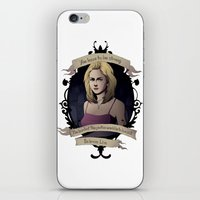 buffy the vampire slayer iPhone & iPod Skins featuring Buffy - Buffy the Vampire Slayer by muin+staers
