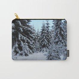 Snowy Winter Wonderland Upper Michigan Carry-All Pouch