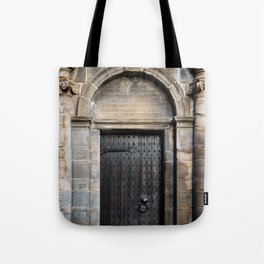 Edinburgh Mercat Cross Door Tote Bag