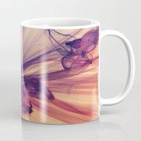 cosmos Mugs featuring Cosmos by JR Schmidt