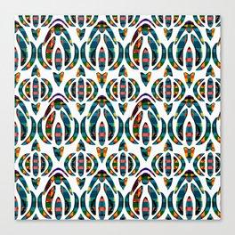 AbstractFloral Petals Canvas Print