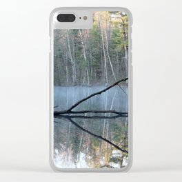 Reflections at Bluegill Pond Clear iPhone Case