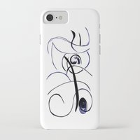 skate iPhone & iPod Cases featuring Skate by NSuleyman