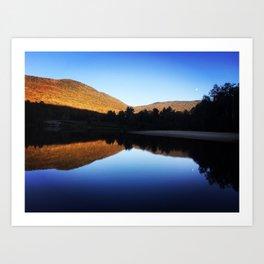 New Hampshire Reflection Art Print