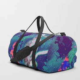 Cosmic Cockatoo Duffle Bag