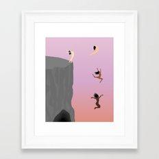 Fall Together Framed Art Print