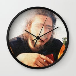Smoky Posty Wall Clock